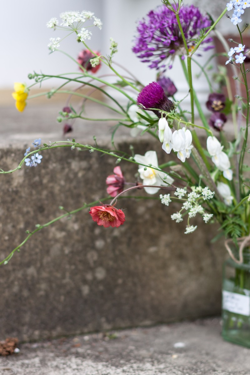 A Jam Jar Of Spring Edinburgh Garden Diary